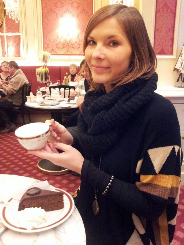 Kaffee im Café Sacher