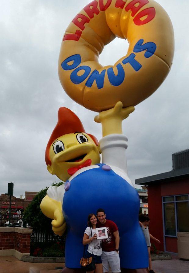 Lard Lad Donuts Universal Studios