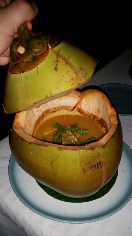 Kokosnuss Curry