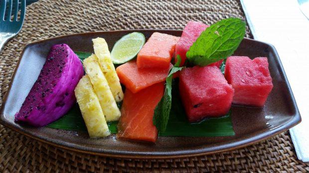 Frische balinesische Früchte