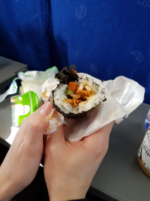 Chinesisches Frühstücks Sushi