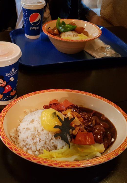 Shanghai Disneyland Mittagessen