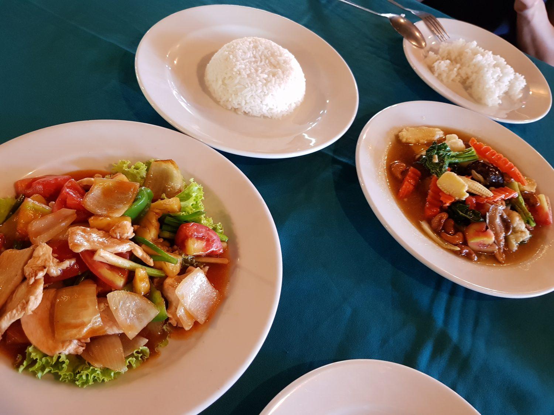 Kambodschanisches Mittagessen
