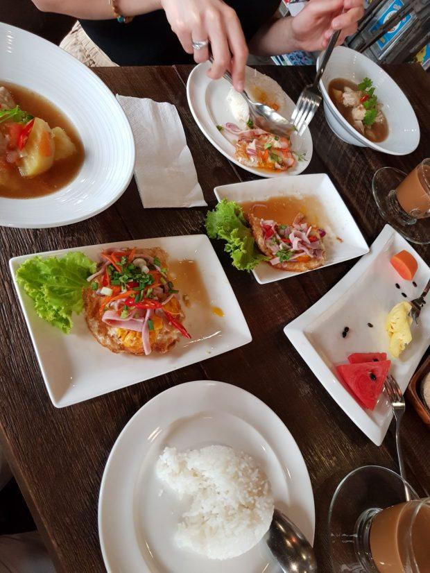 Thailändisches Frühstück