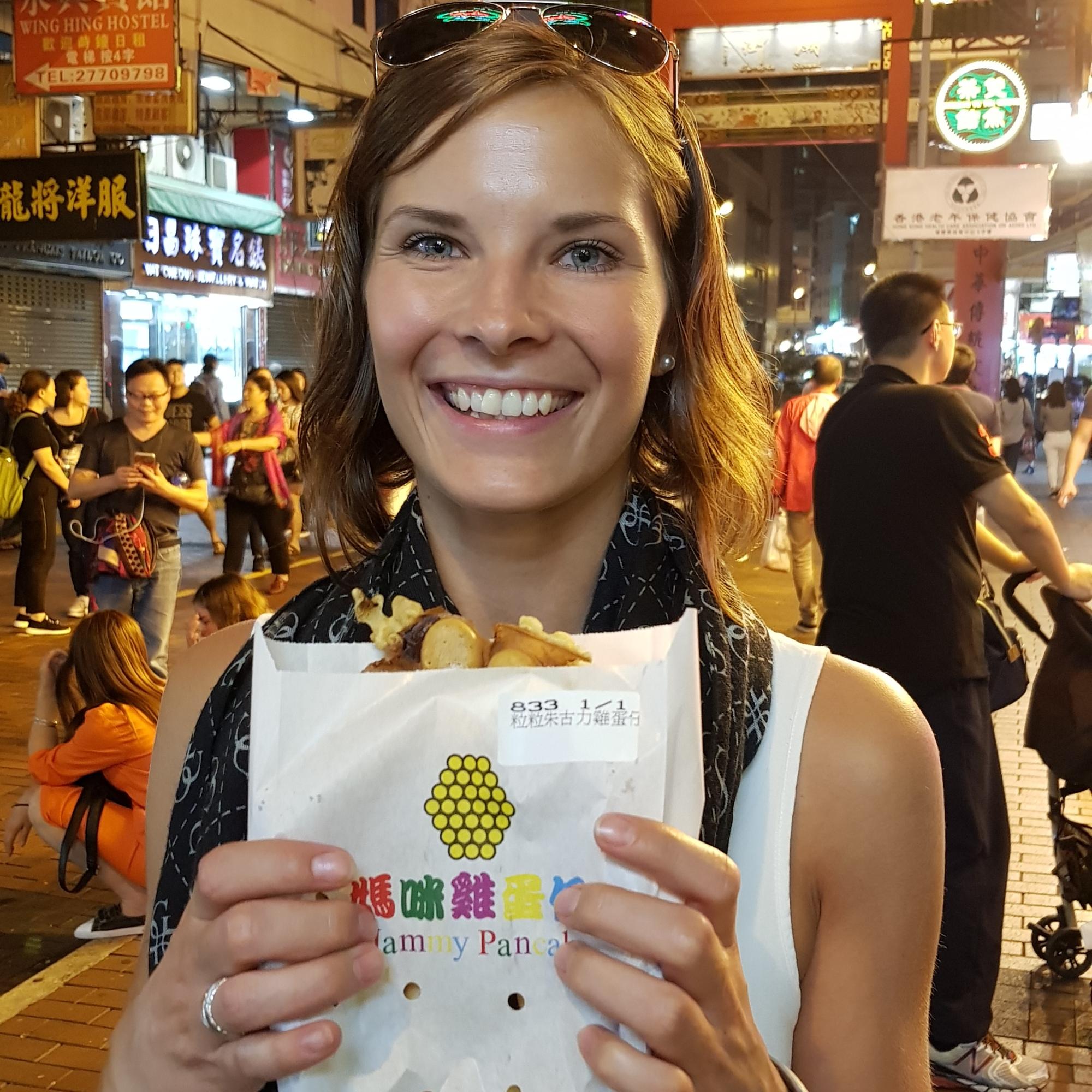 Bubble Waffle Hongkong