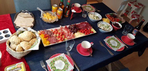 Norwegisches Frühstück