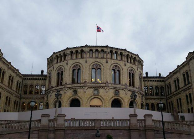 Parlament in Oslo