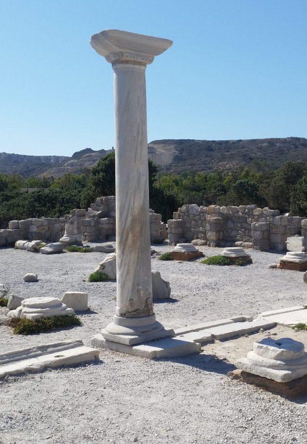 Ruinen auf Kos