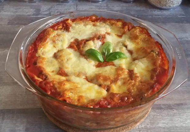 Rezept italienische Gemüselasagne