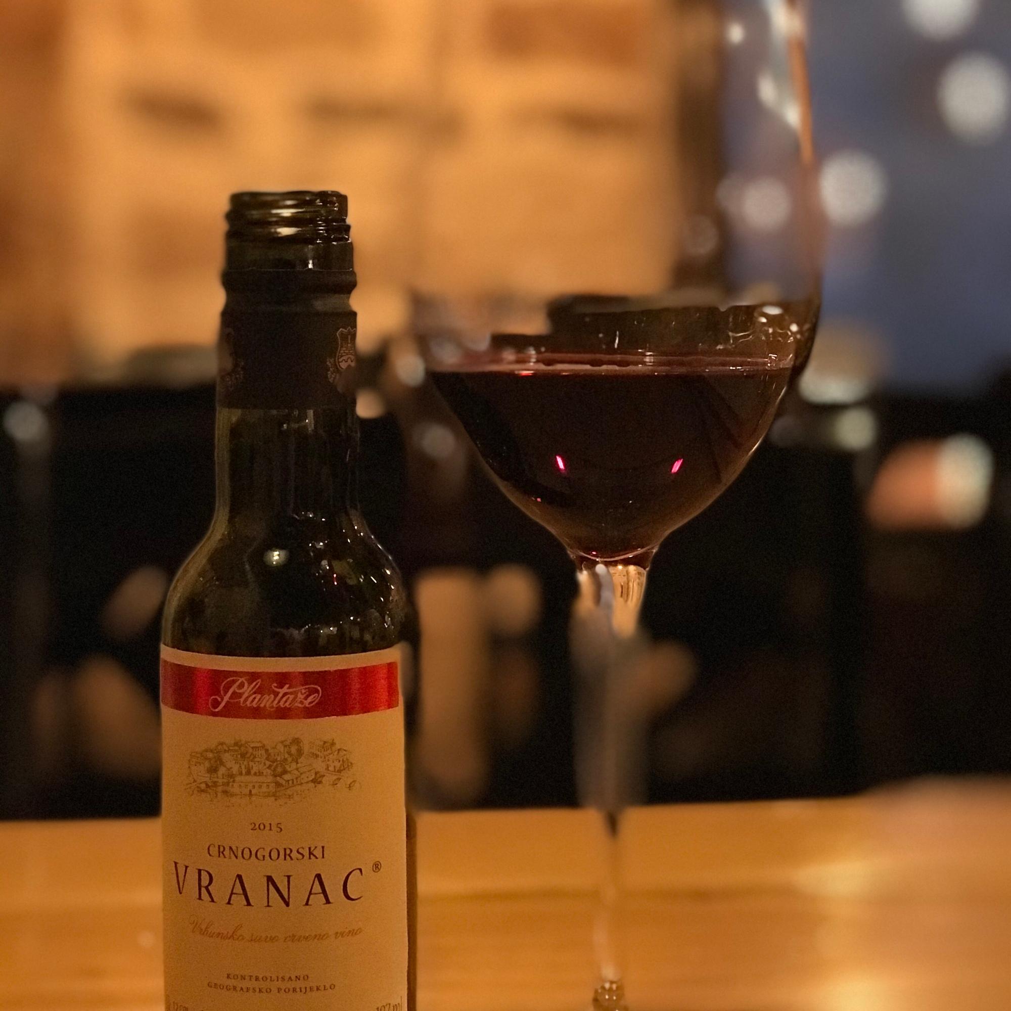 Vranac Wein
