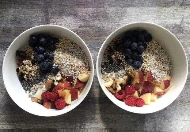 Rezept Frühstücksbowl