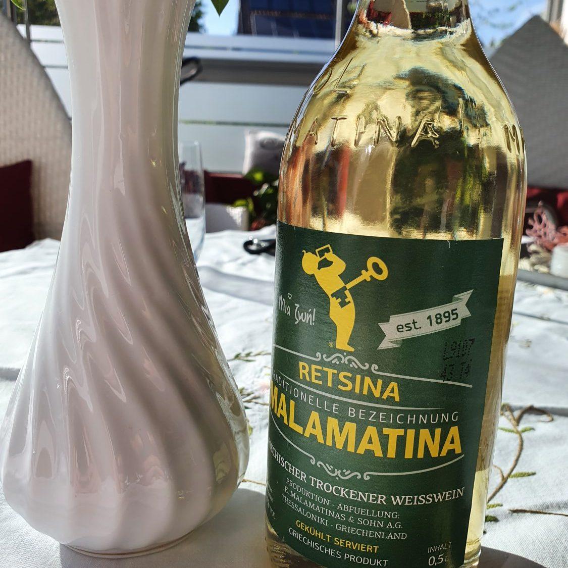 Retsina Wein
