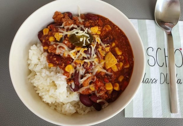 Rezept chili sin carne