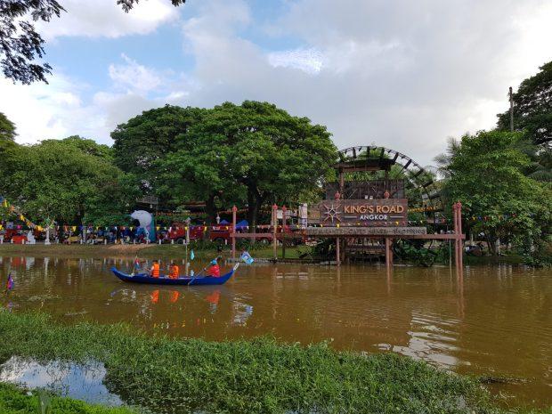 Wasserfest Siem Reap