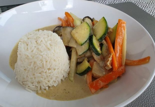 Grünes Thai Curry