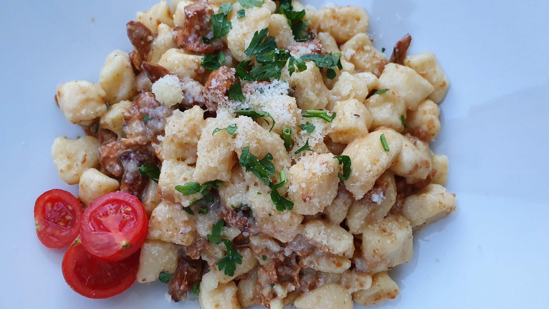 Topfen-Kartoffel Gnocchi