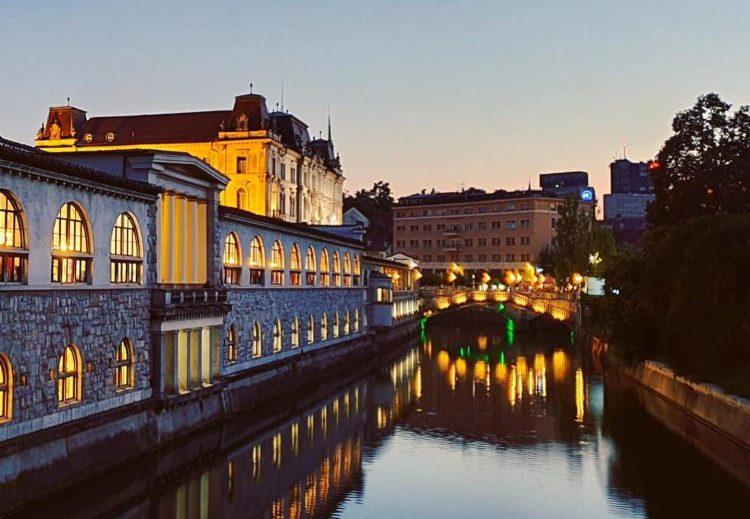 Ljubljana nachts