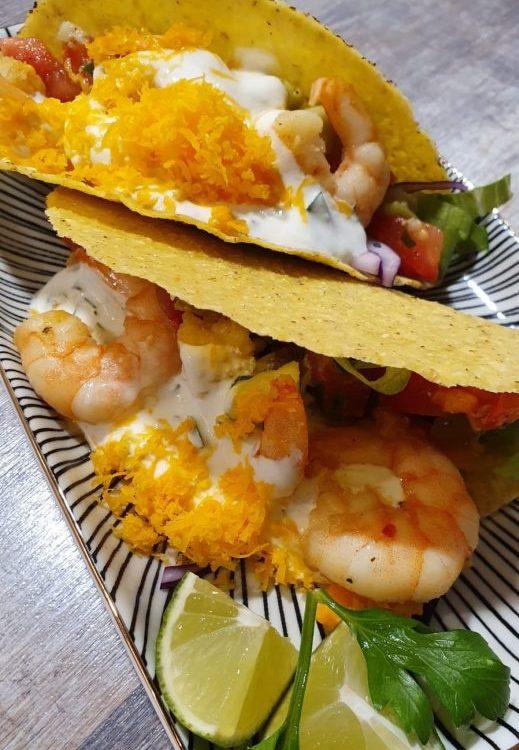 Rezept Garnelen Tacos