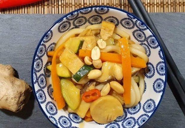 Rezept Udon Nudeln mit Tofu