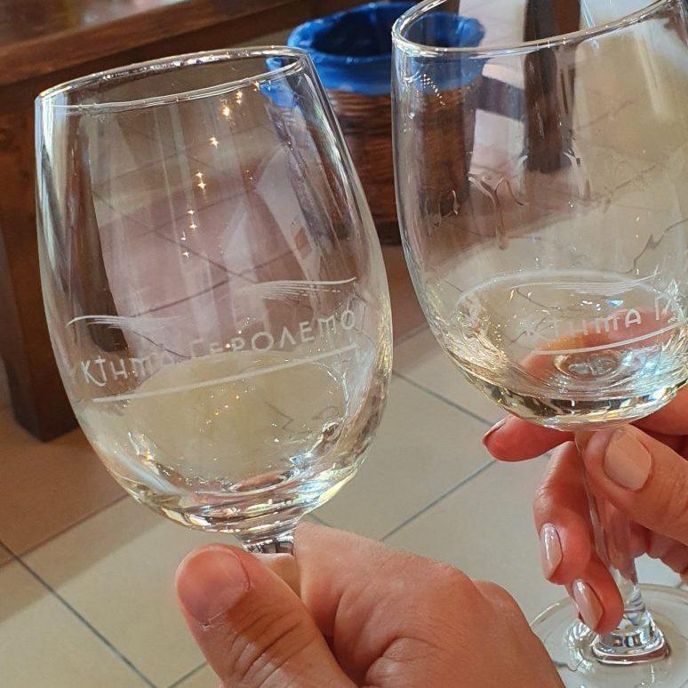 Weißwein Verkostung