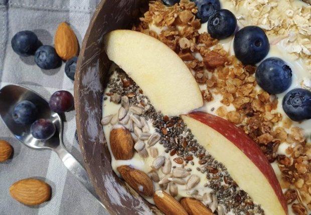 Ideen Müsli Bowl Frühstück