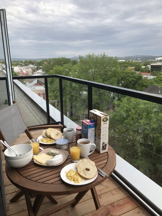 Frühstück Quebec Cit