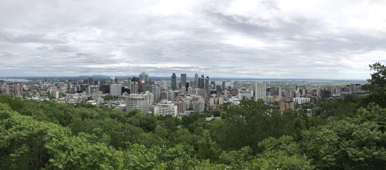Ausblick Mont Royal