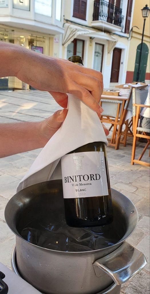 Wein von Menorca